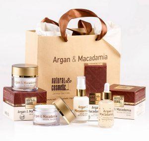 Tratamientos cosméticos con Argán y Macadamia